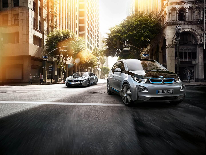 BMW i3 и BMW i8