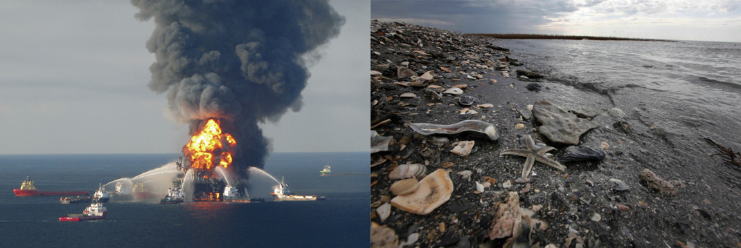 Авария на буровой платформе British Petroleum и последующая катастрофа