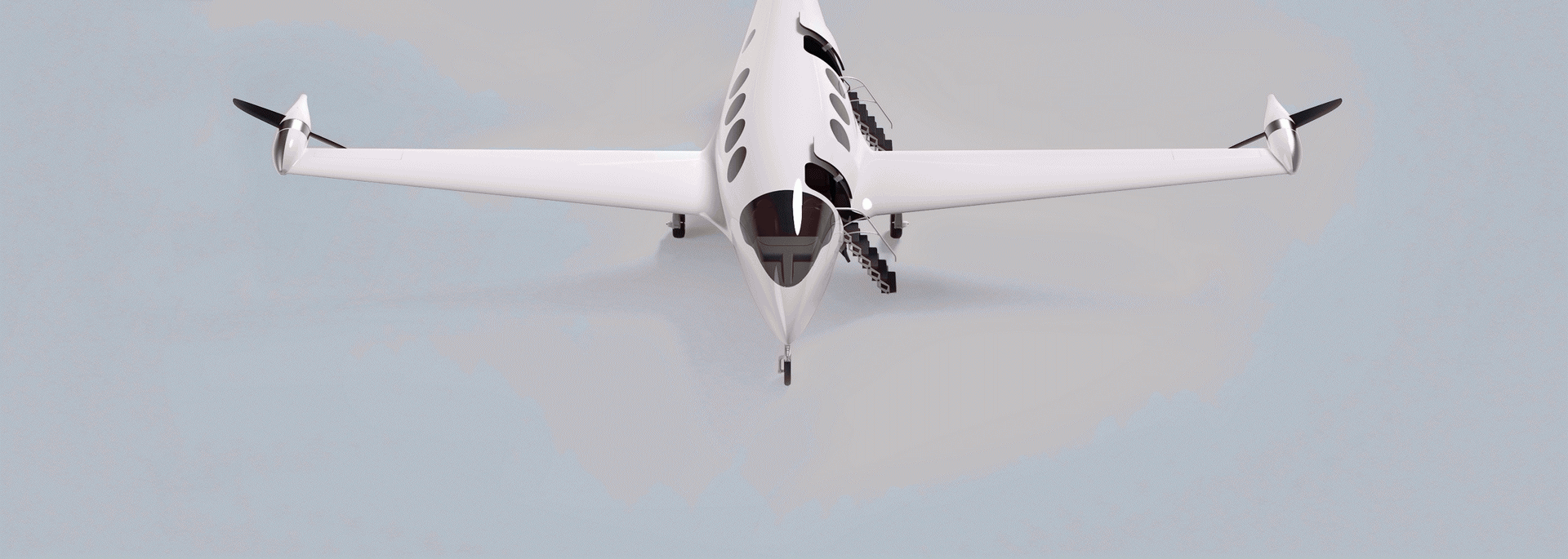 Электрический воздушный борт Alice