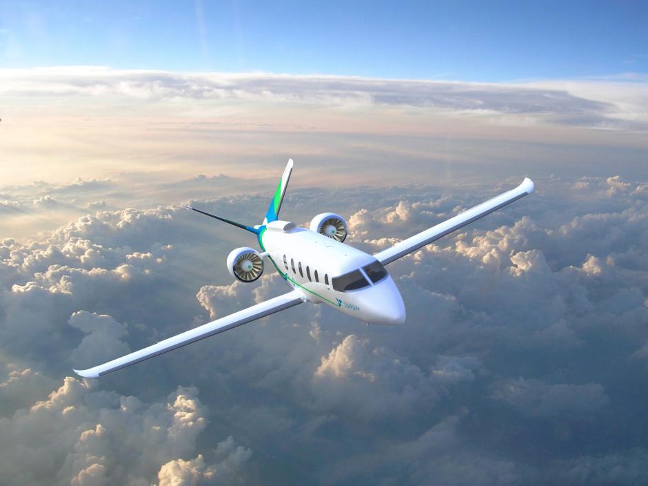 Гибридный самолет Zunum