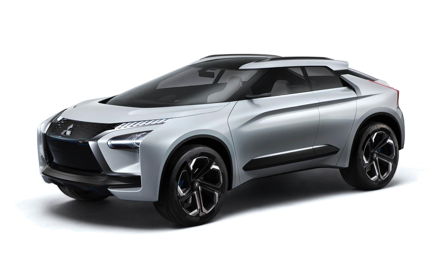 Дизайн концепта Mitsubishi e-Evolution
