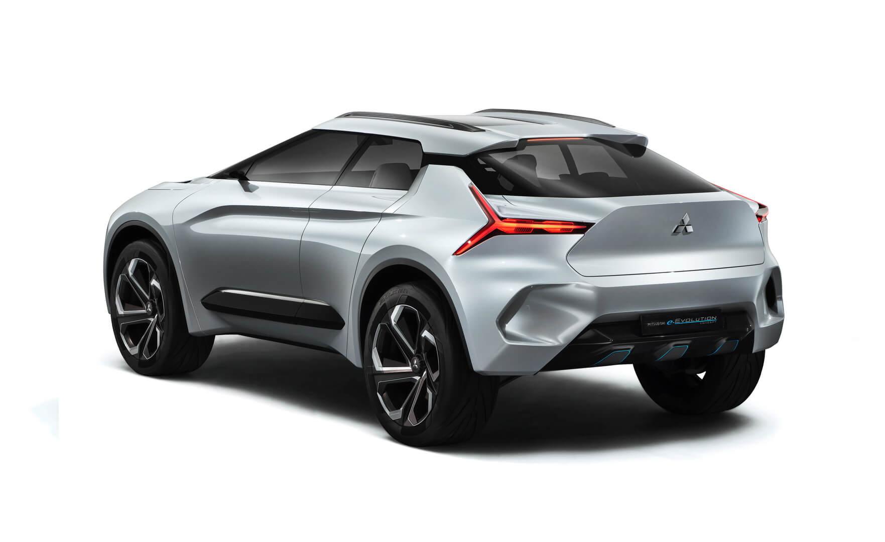 Электрический внедорожник Mitsubishi e-Evolution