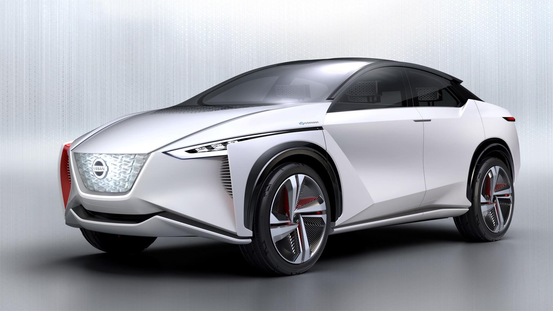 Концептуальный электромобиль Nissan IMx