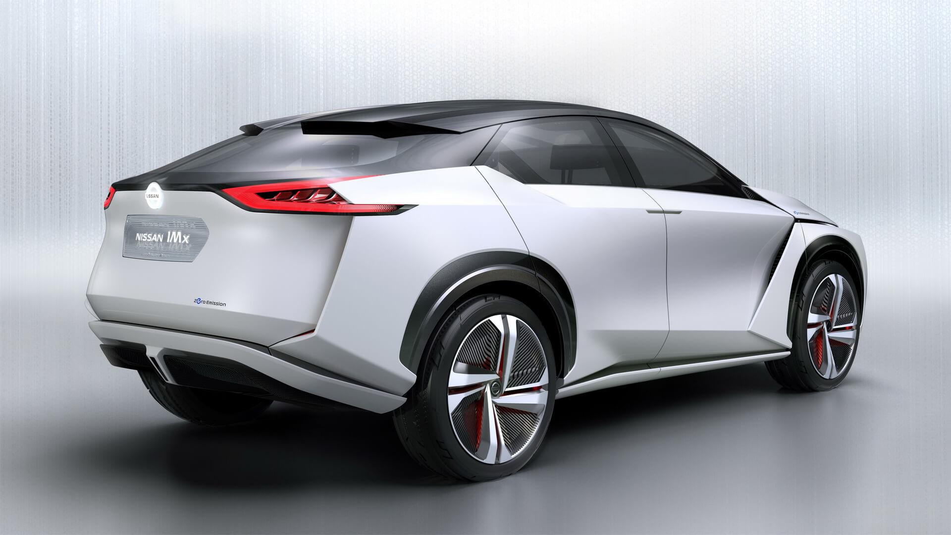 Дизайн кроссовера Nissan IMx