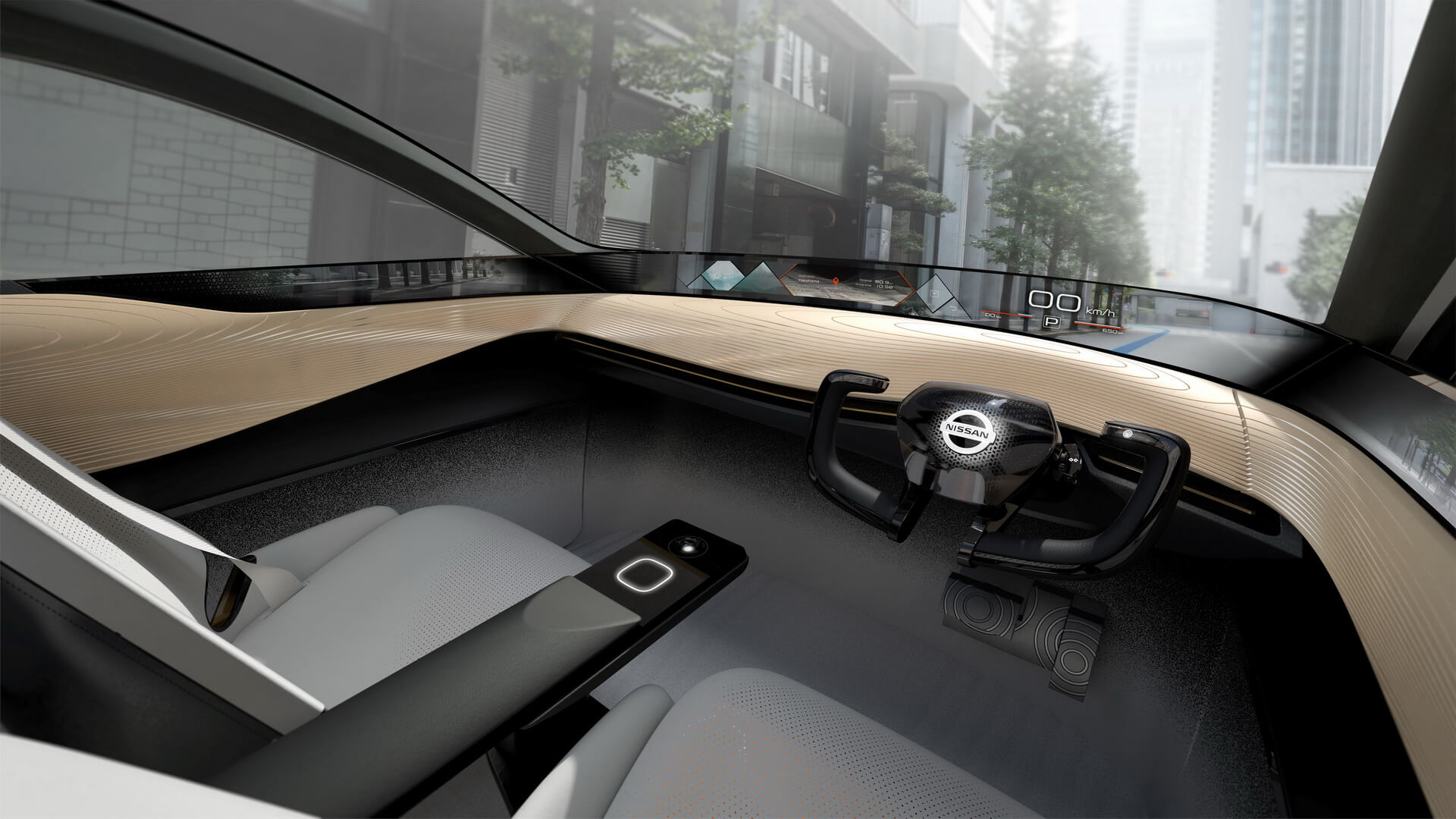 Передняя панель управления Nissan IMx