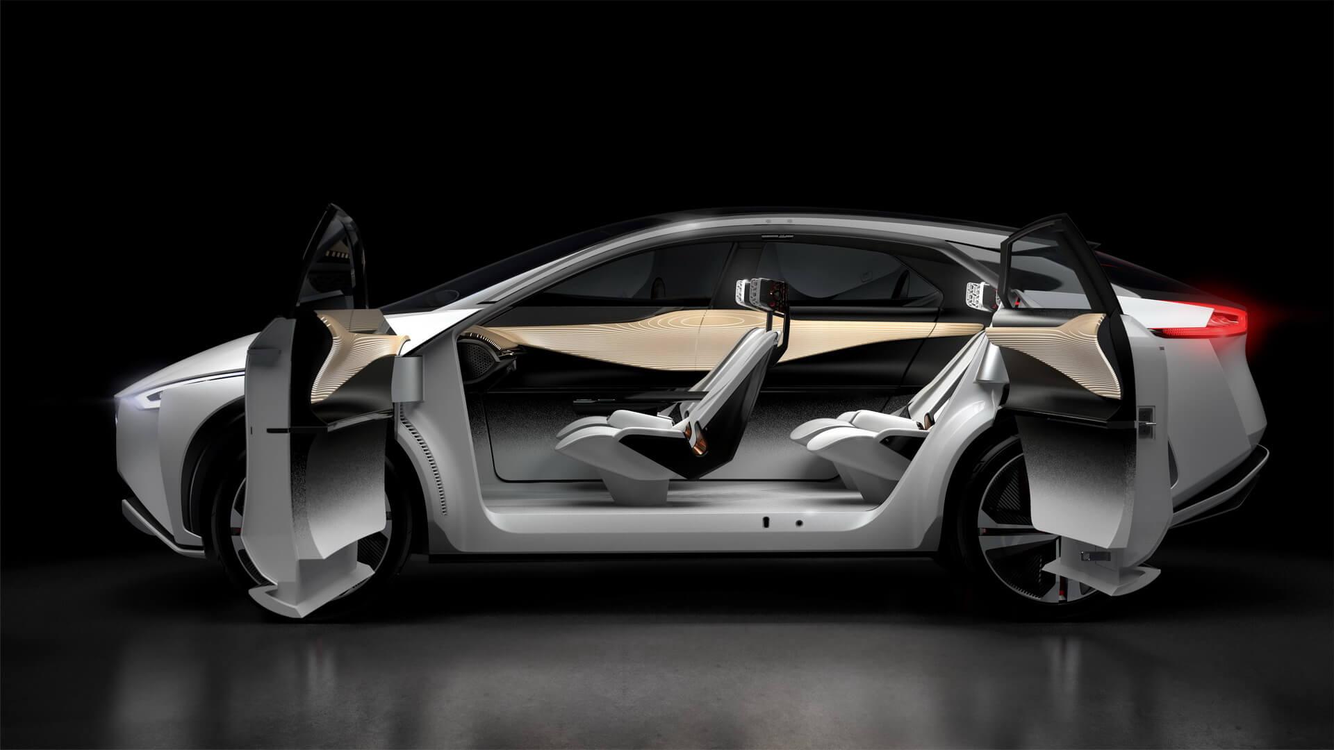Электрическая платформа Nissan IMx