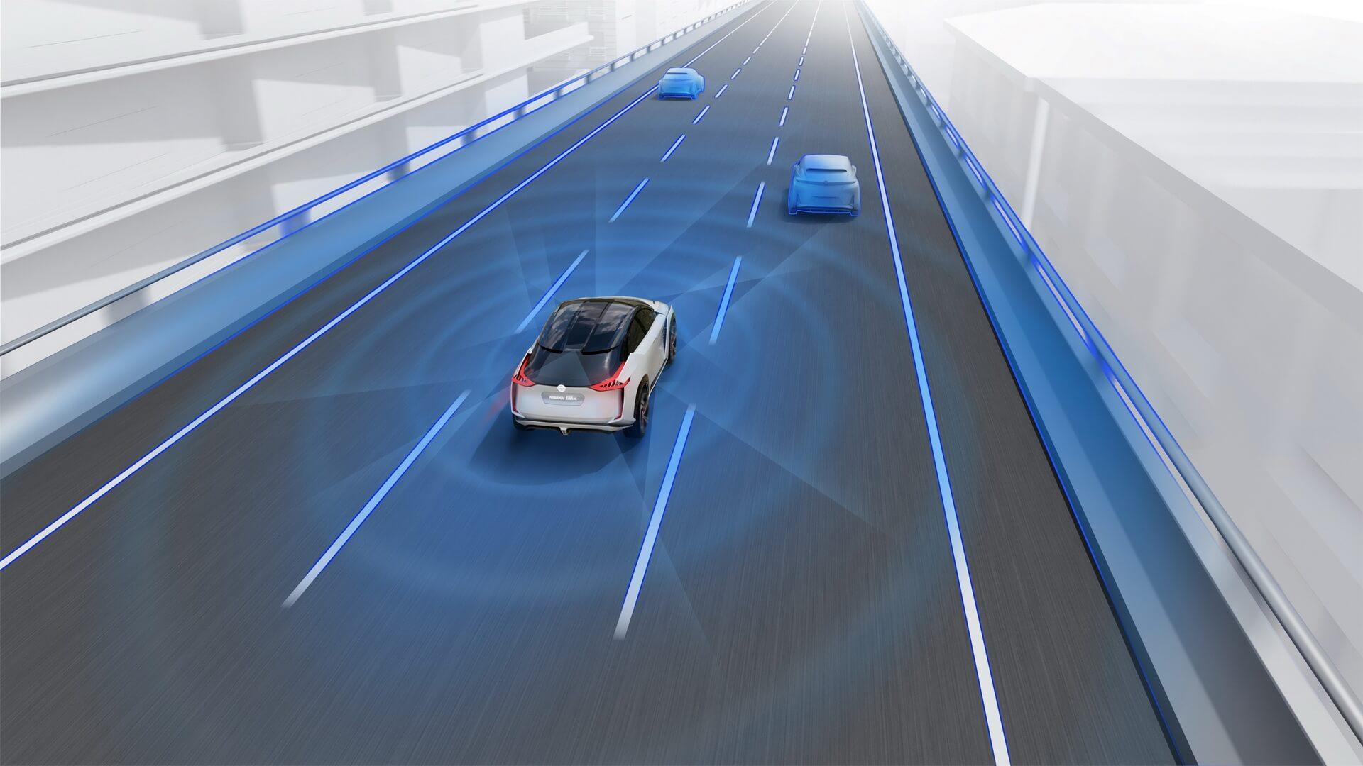Автономный режим управления ProPilot Drive Nissan IMx