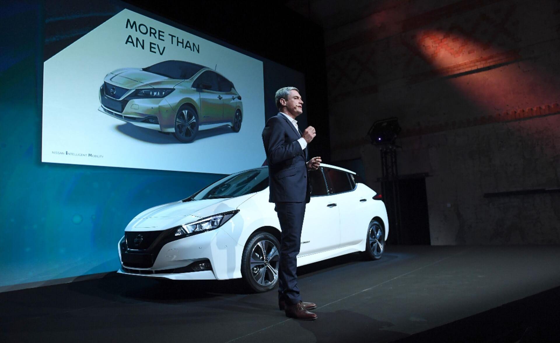 Презентация Nissan Leaf «2.ZERO» в Осло (Норвегия) 2 октября, 2017 года