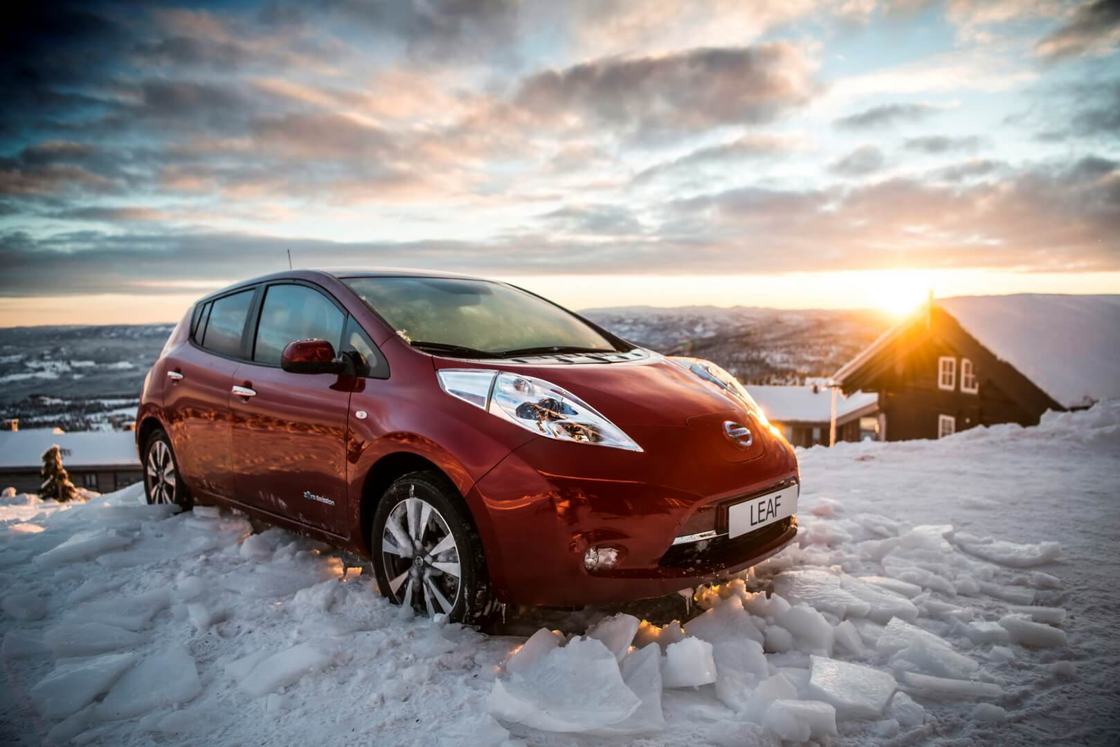 Эксплуатация Nissan Leaf зимой