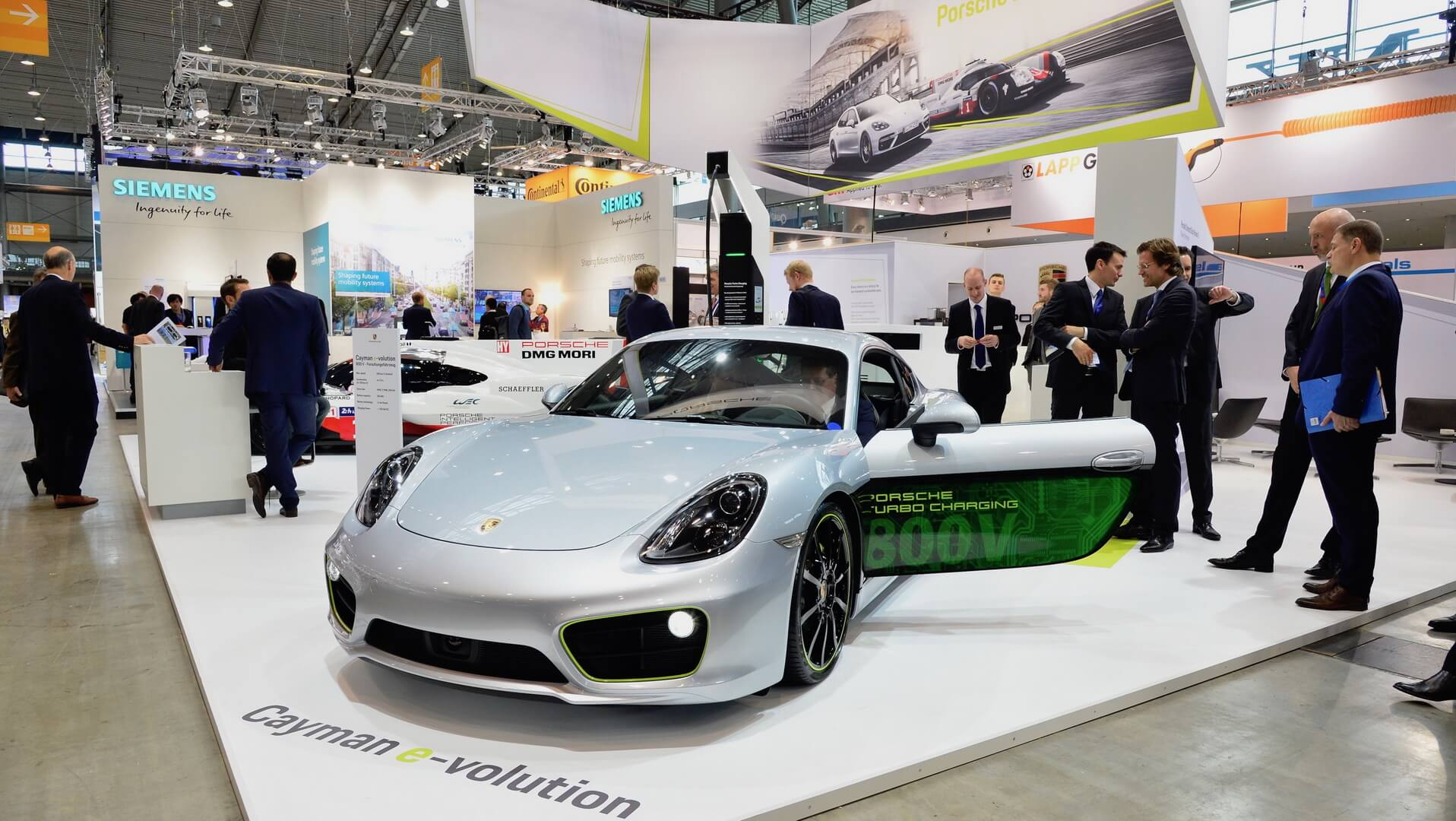 Электрокар Porsche Cayman e-volution
