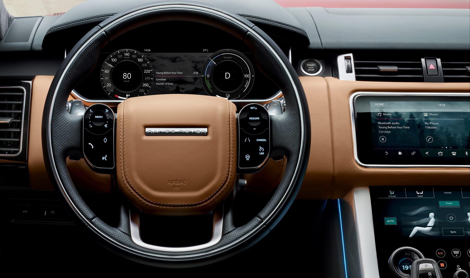 Фотография экоавто Range Rover Sport plug-in hybrid P400e - фото 16