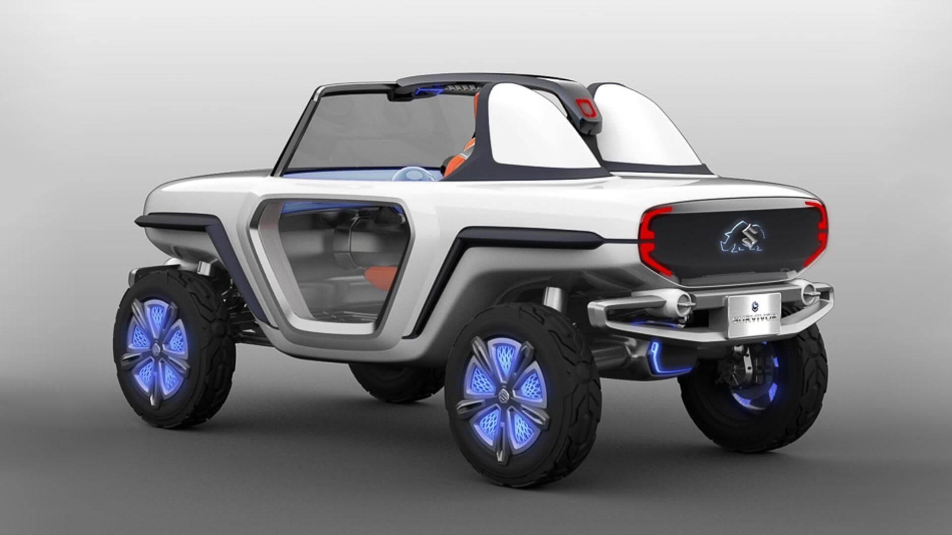 Концепт Suzuki e-Survivor