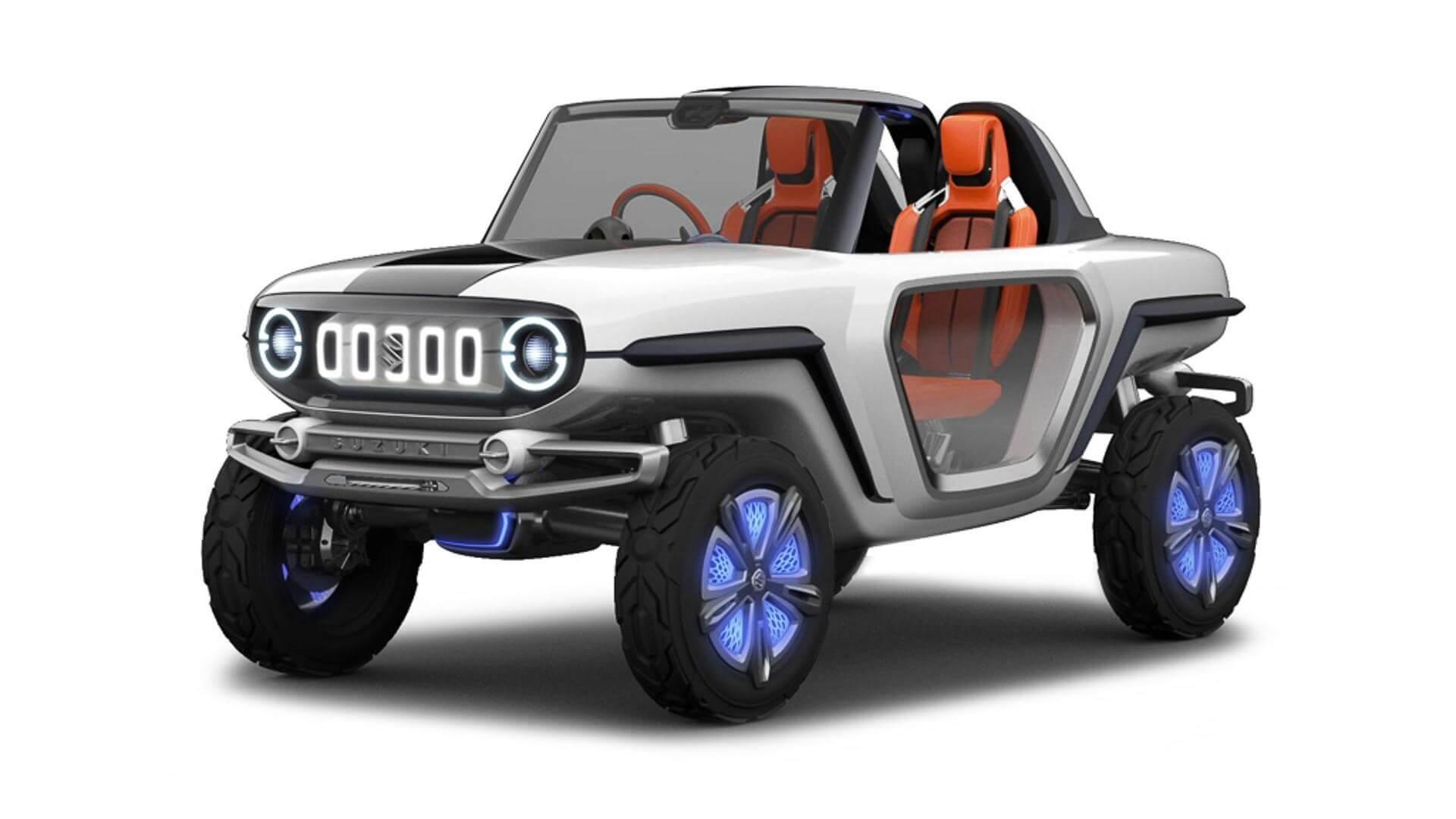 Концепт электромобиля Suzuki e-Survivor