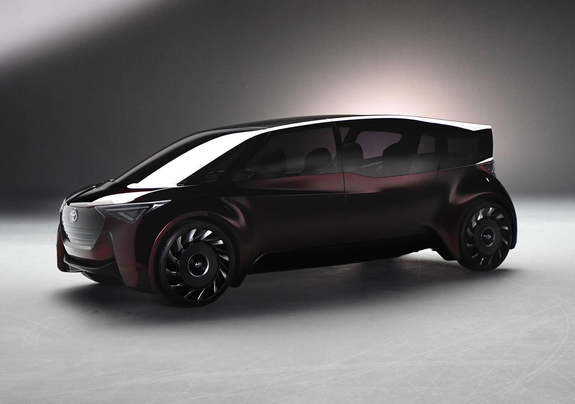 Концепт-кар «Fine-Comfort Ride» на топливных элементах