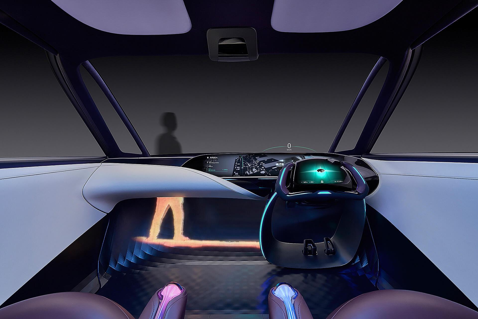 Интерьер Toyota «Fine-Comfort Ride» FCV