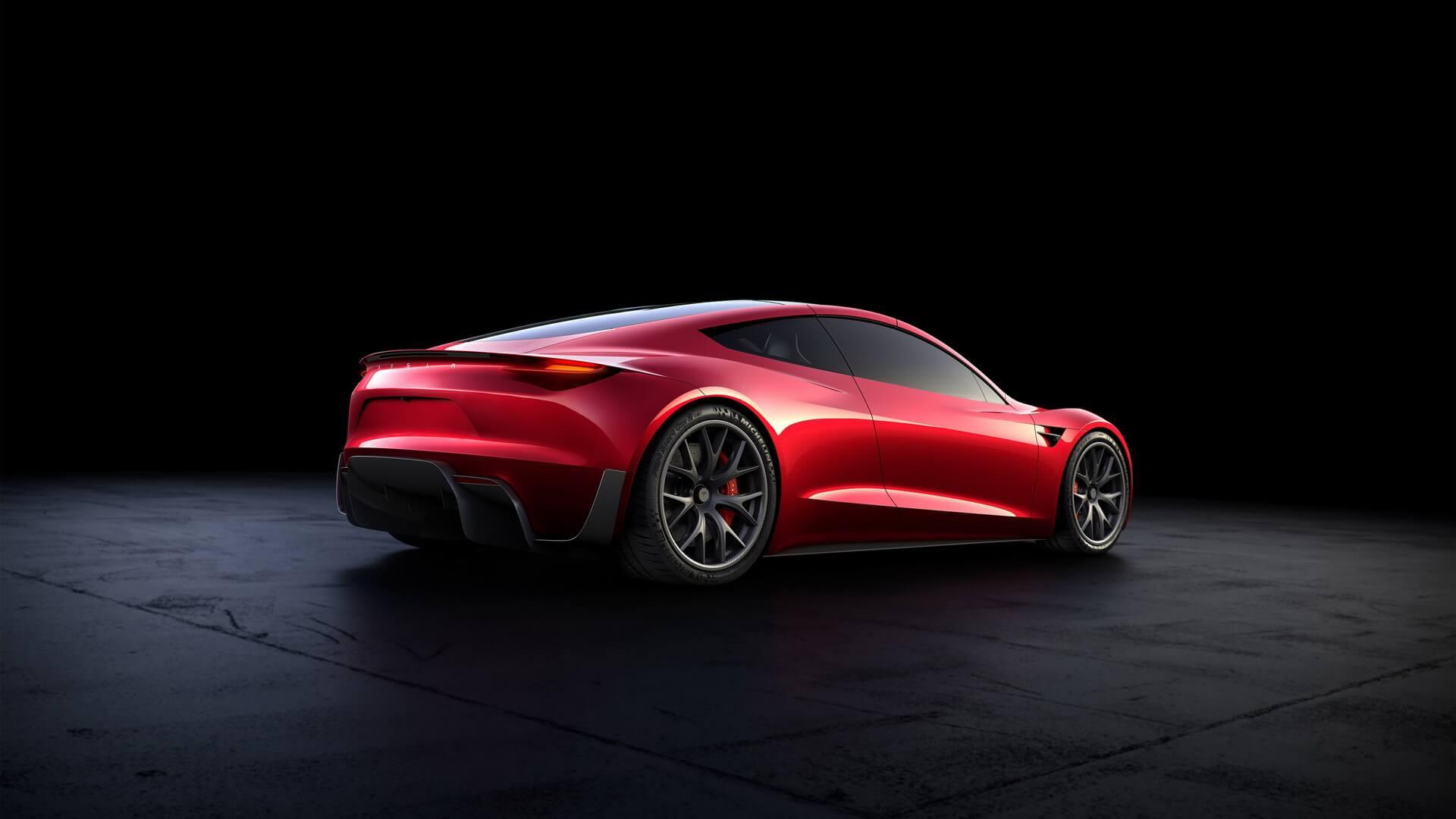 Электрический спорткар Tesla Roadster второго поколения
