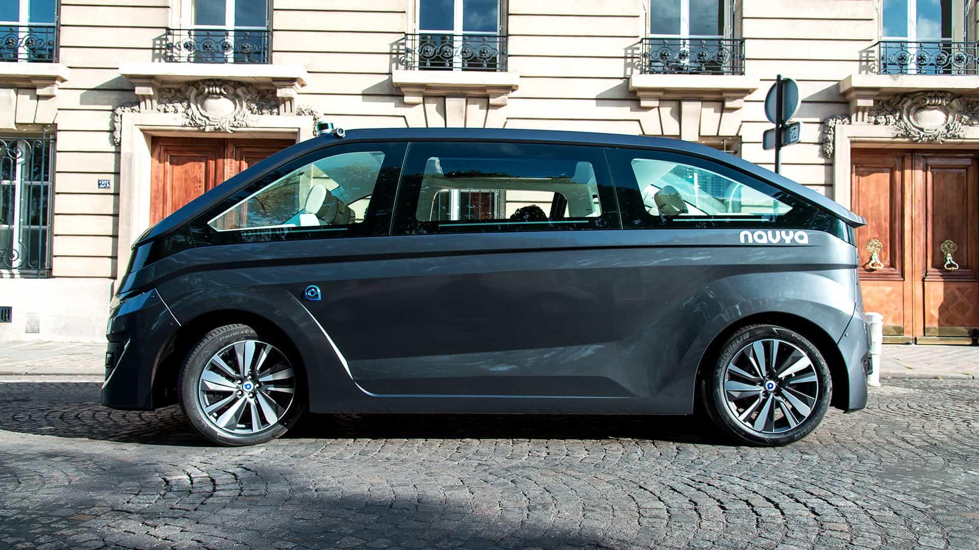 Автономный электрический фургон Autonom Cab от NAVYA