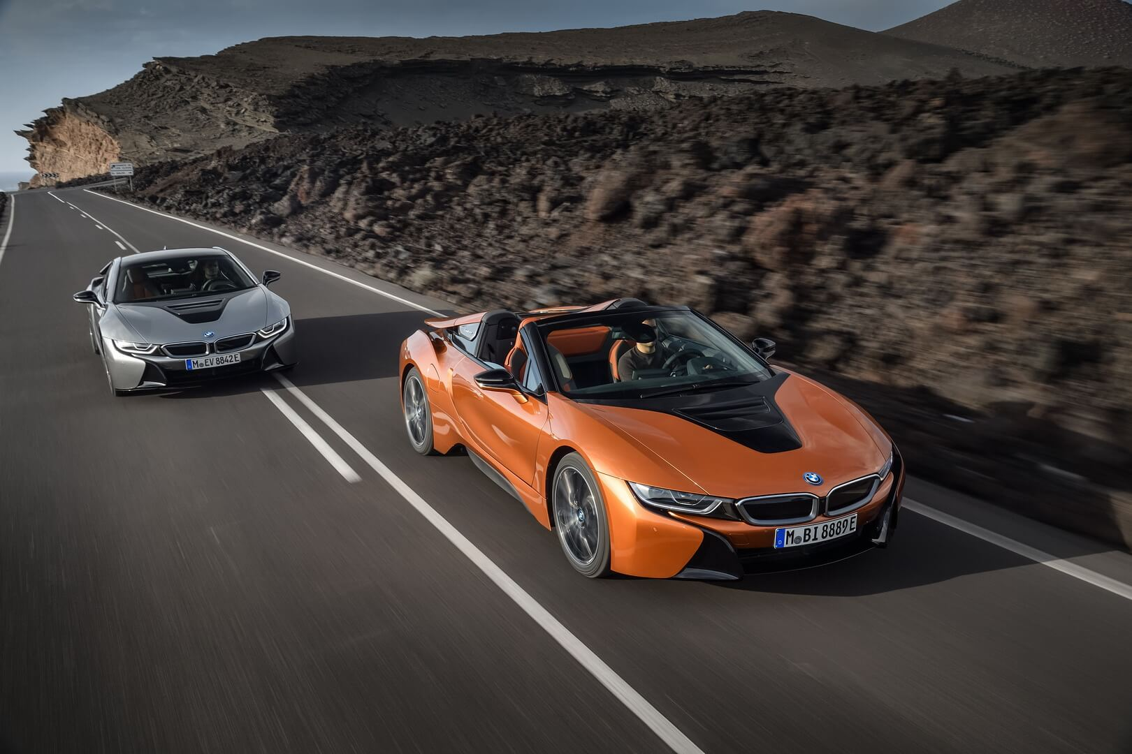 BMW i8Coupe & BMW i8Roadster