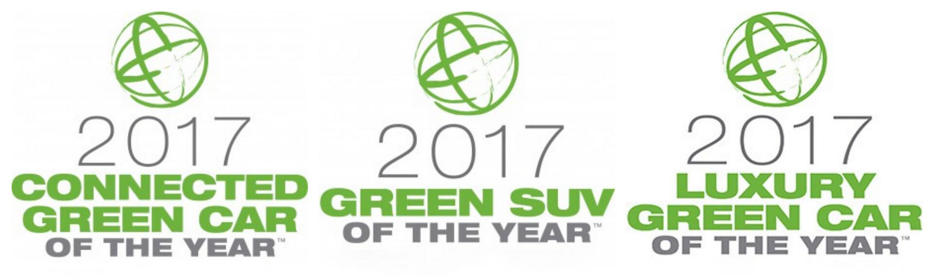 Премии «Connected Green Car», «Green SUV», «Luxury Green Car»