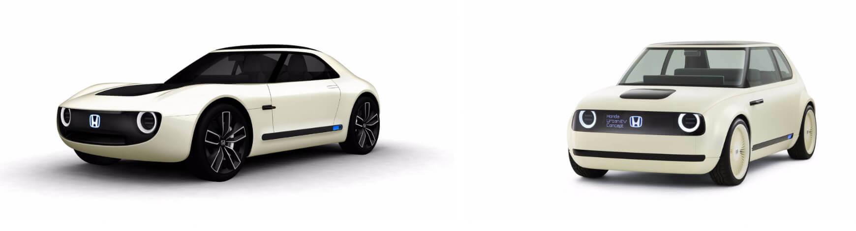 Honda Sports EV и Honda Urban EV Concept