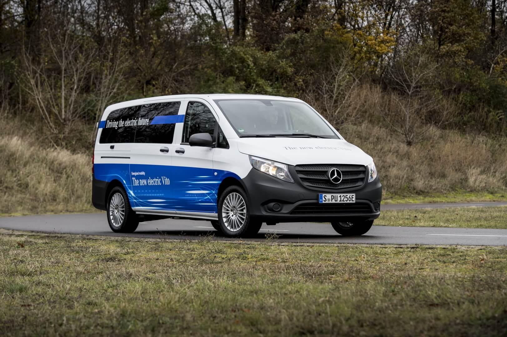 Электрический фургон Mercedes-Benz eVito