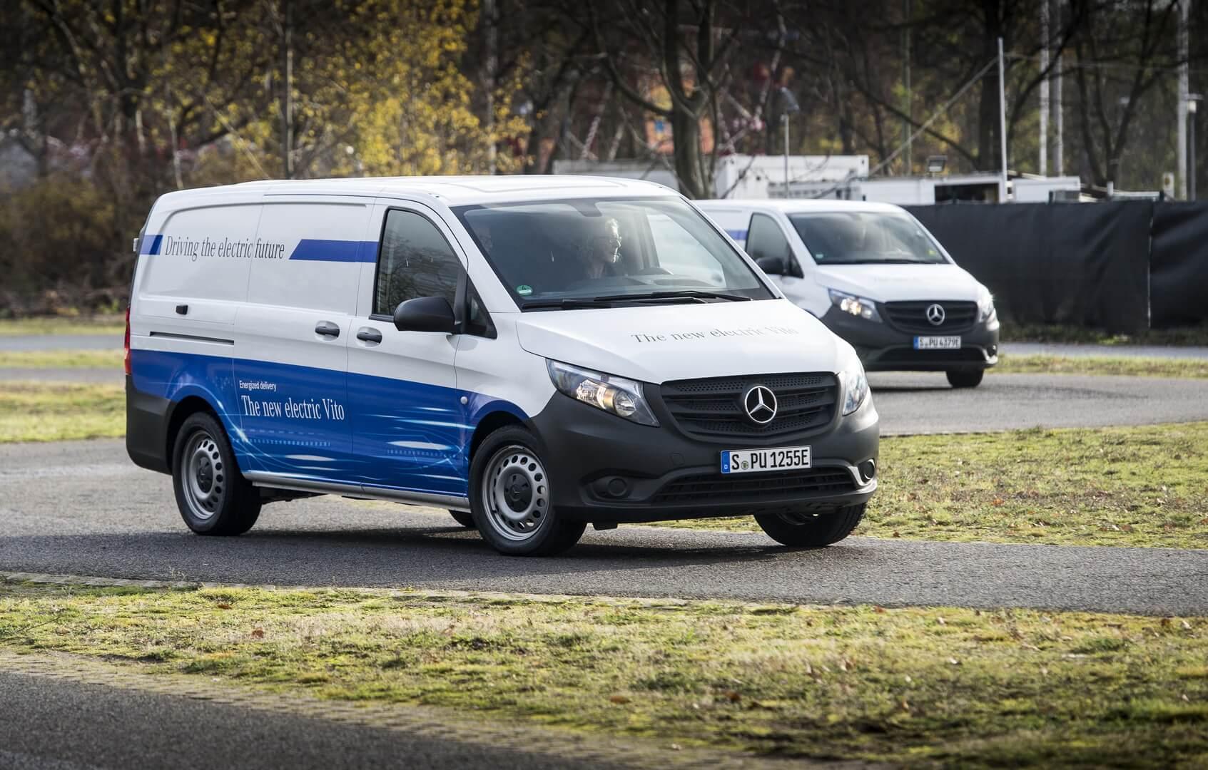 Электрофургоны Mercedes-Benz eVito