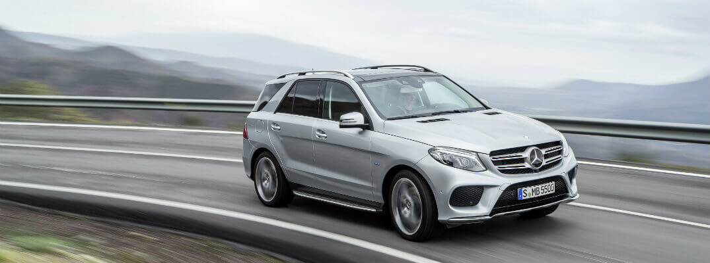 Плагин-гибрид Mercedes-Benz GLE550e