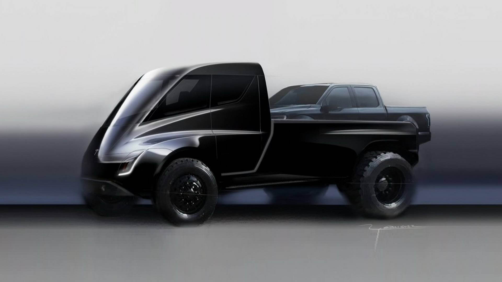 Прототип Tesla Pickup