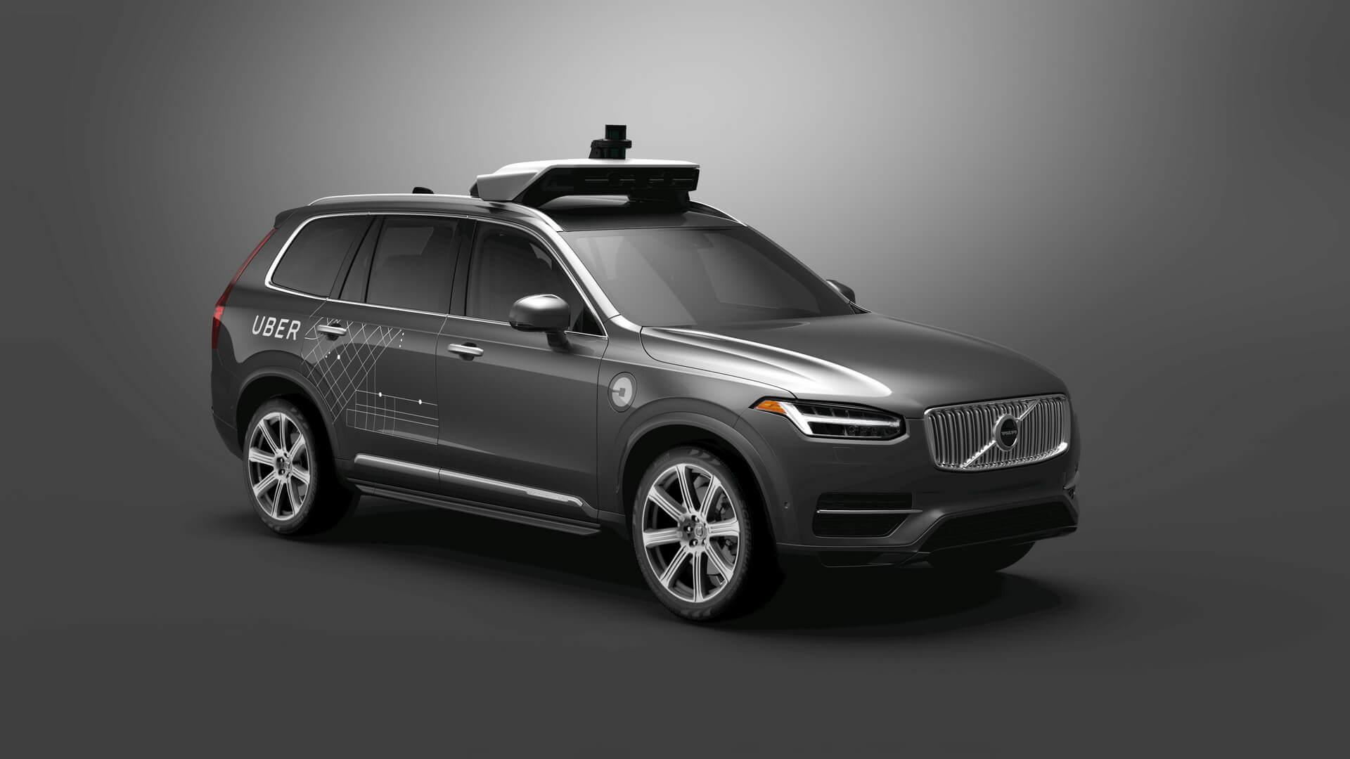 Автономныq плагин-гибрид Volvo XC90