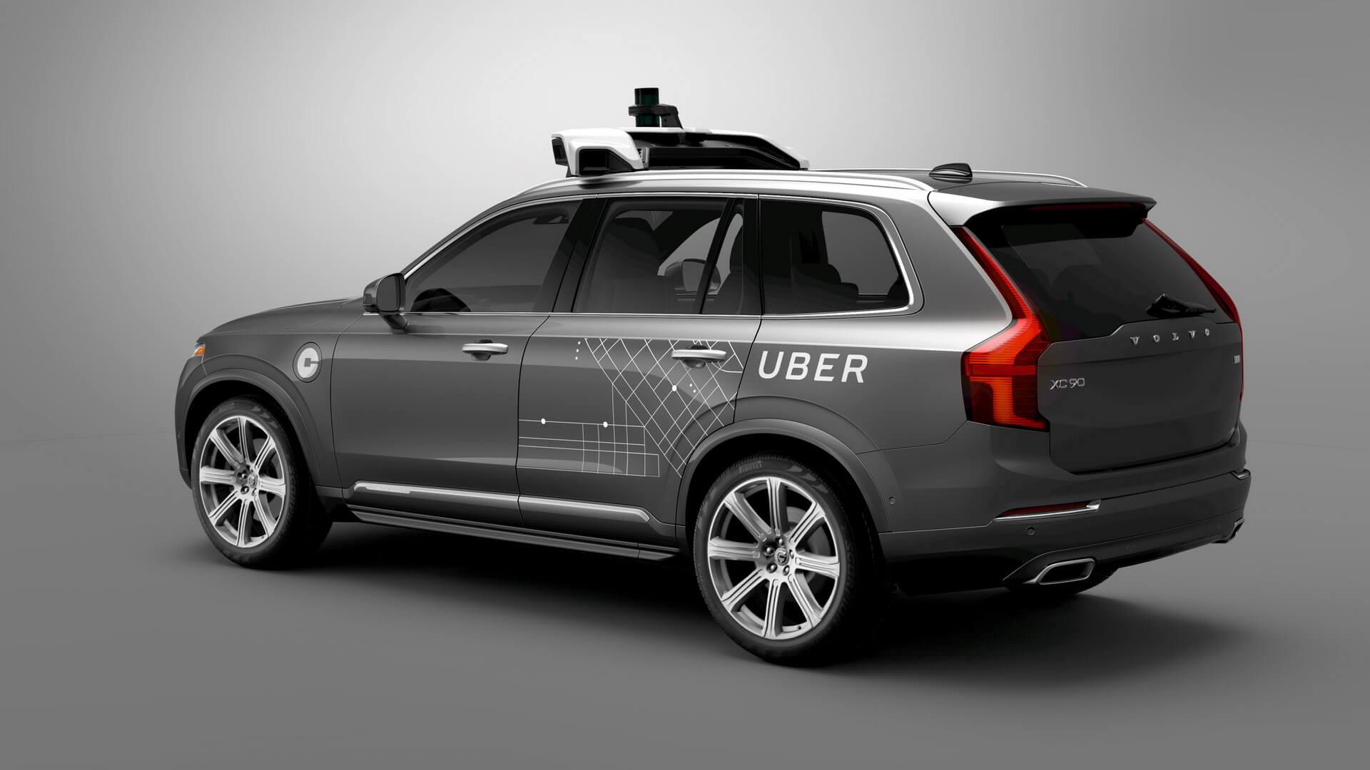 Автономный плагин-гибрид Volvo XC90 для Uber
