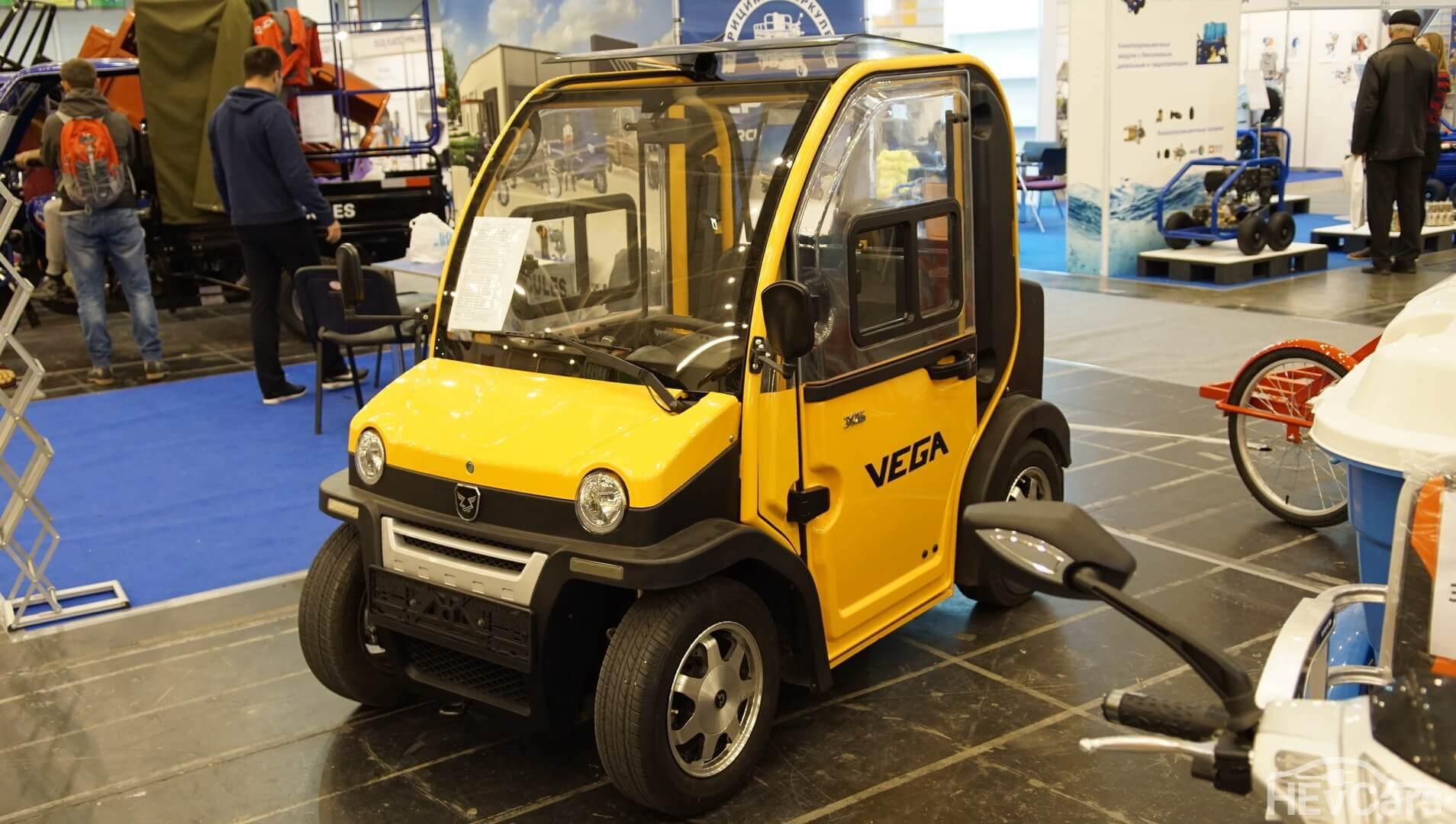 Городской мини-электромобиль Vega Mario