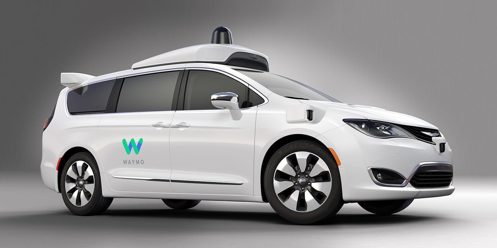 Chrysler Pacifica Hybrid с автономным управлением от Waymo