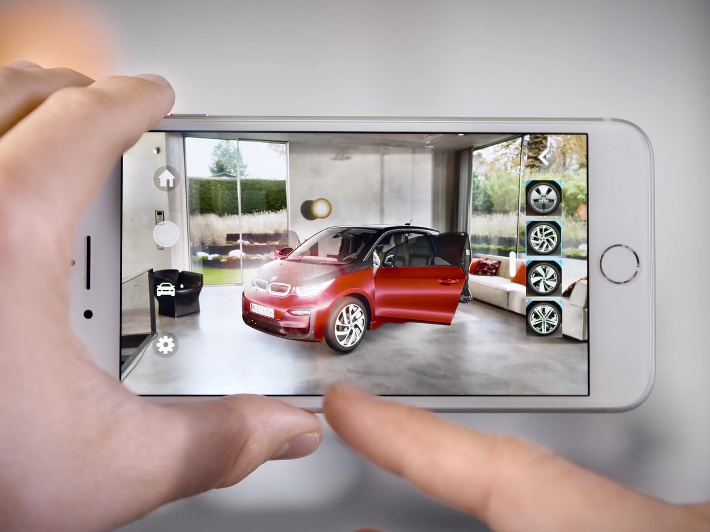 Приложение BMW iVisualiser для iOS
