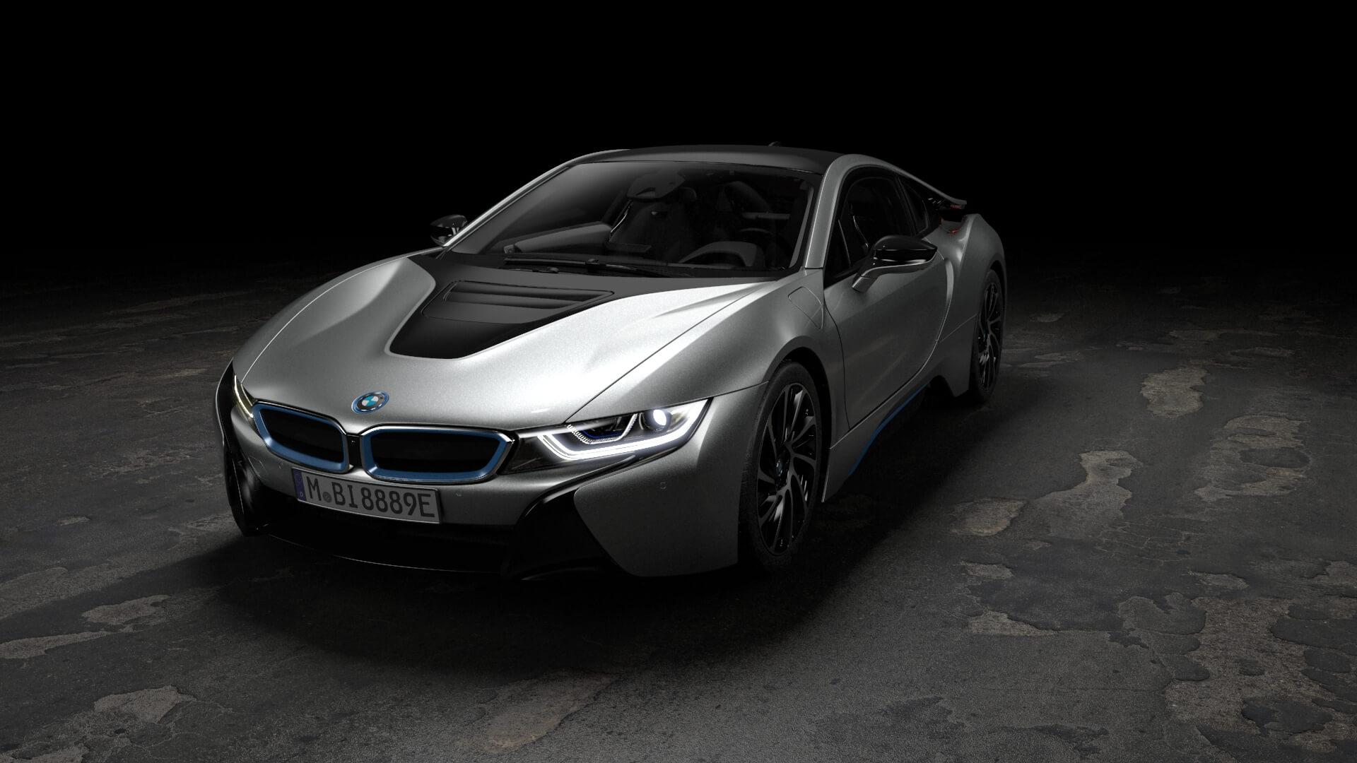 Плагин-гибрид BMW i8
