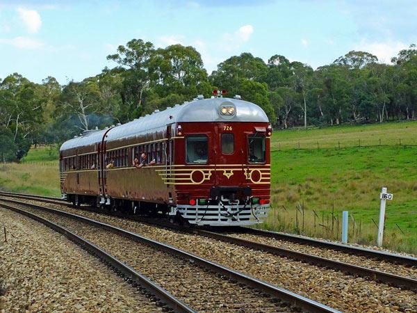 Поезд на солнечных батареях Byron Bay Railroad Company