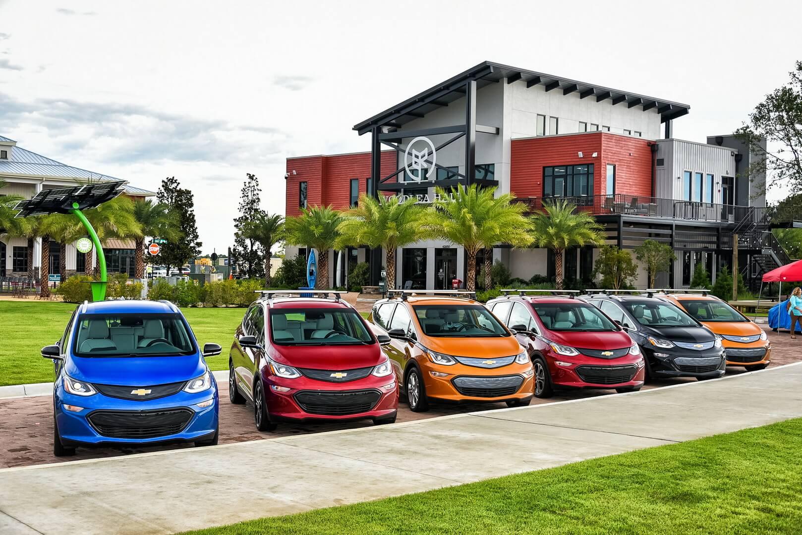 Электромобили Chevrolet Bolt EV