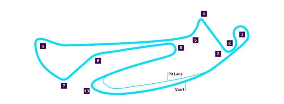 Гоночная трасса Formula E вБерлине