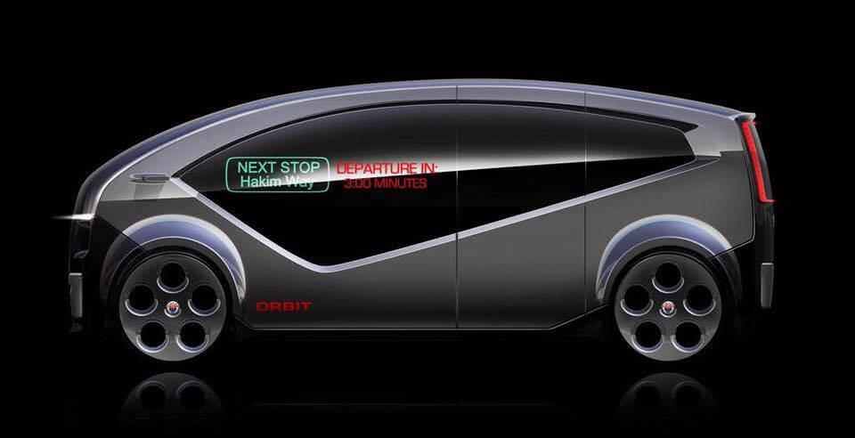 Футуристический автономный городской электромобиль Fisker Orbit