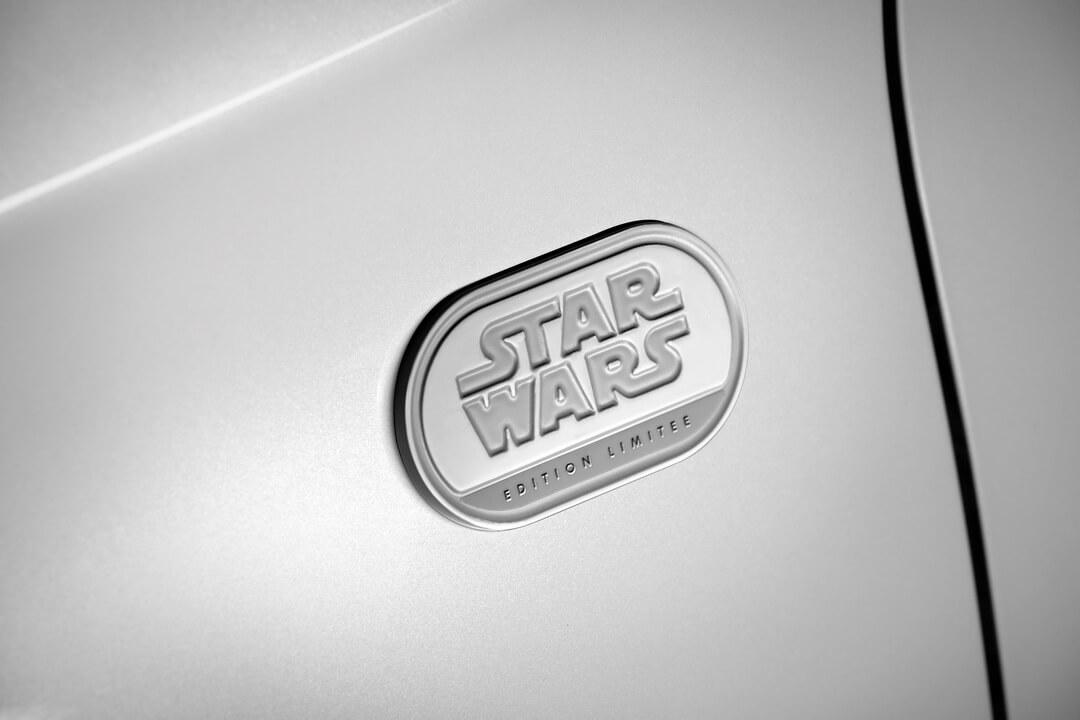 Эмблема Renault ZOE Star Wars Limited Edition