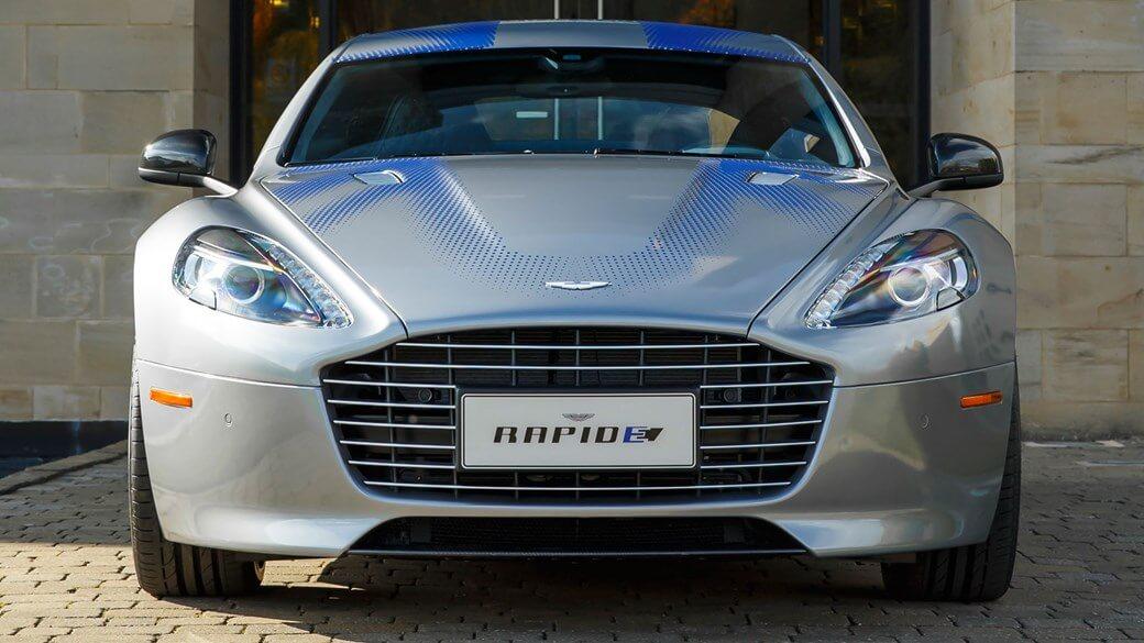 Электрический спорткар Aston Martin RapidE