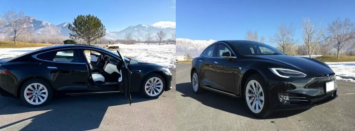 Бронированный электромобиль Tesla Model SP100D