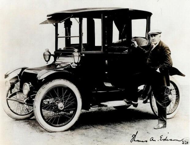 Электромобиль Detroit Electric
