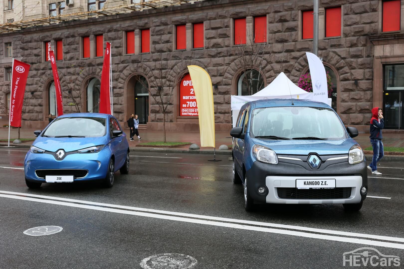 Renault Zoe и Renault KangooZ.E.
