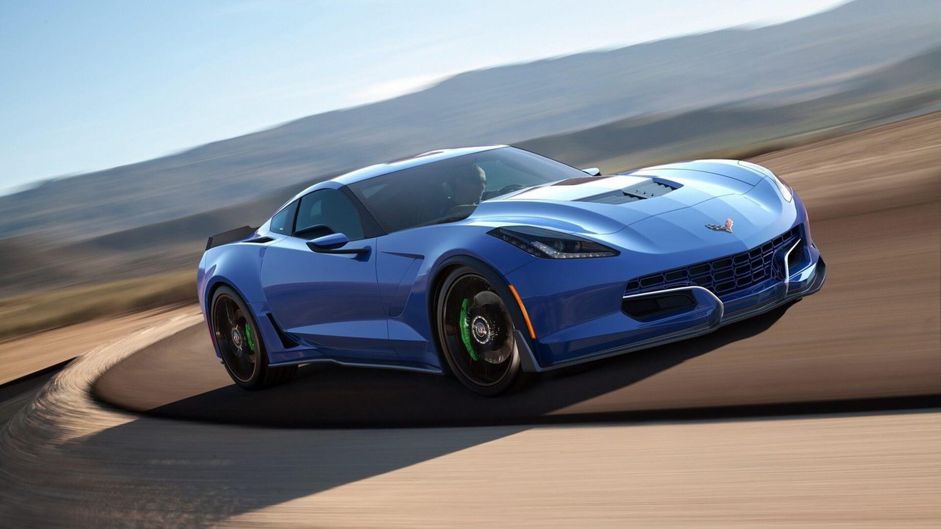 Электрокар Genovation GXE набазе Chevrolet Corvette