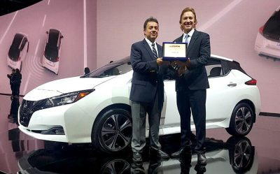 Вручение награды «FIPA Green Car ofthe Year 2018»