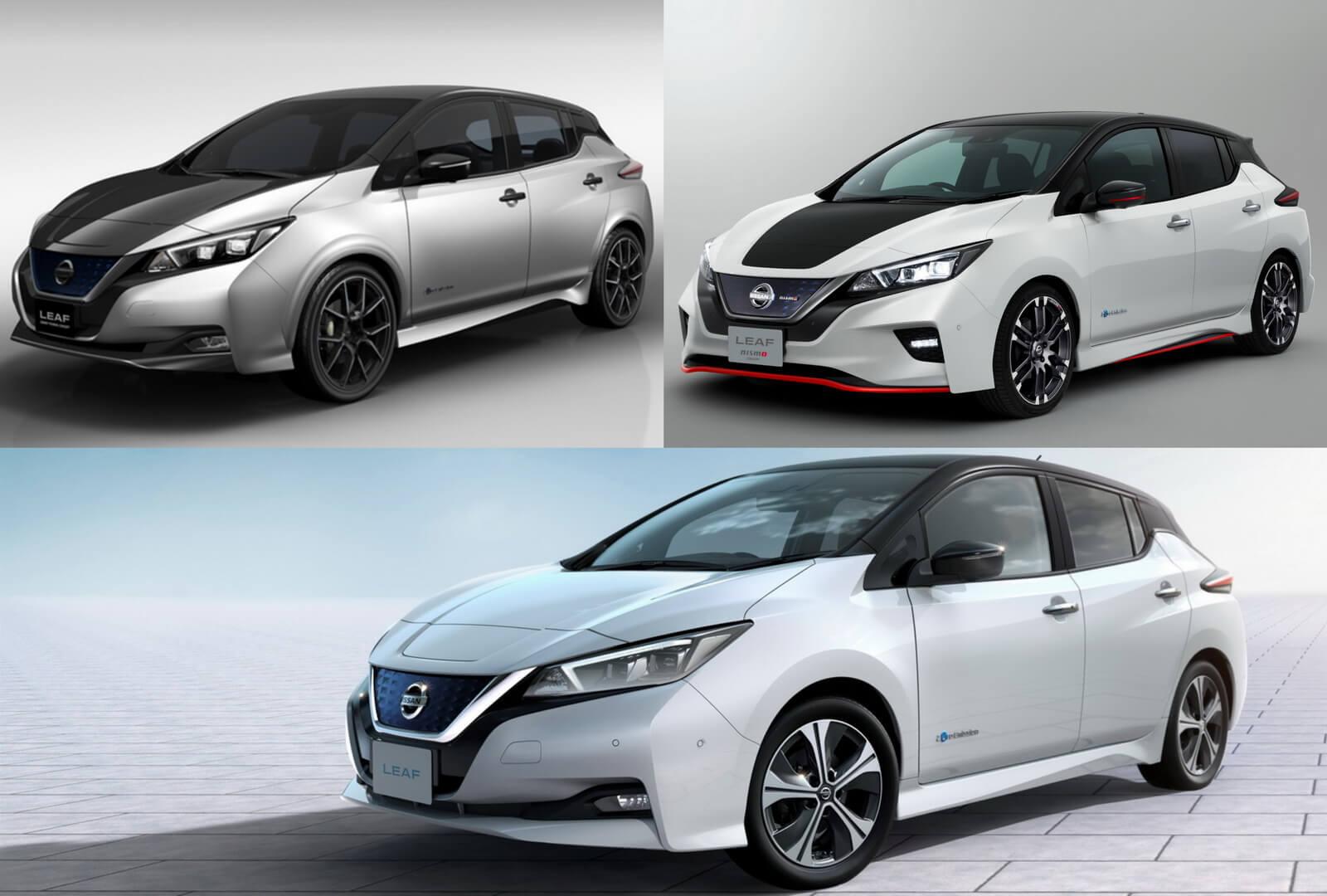 Nissan Leaf Grand Touring & Leaf Nismo 2018 &Leaf 2018