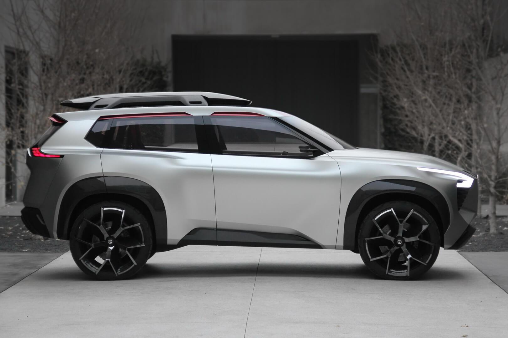 Концепт кроссовера Nissan Xmotion