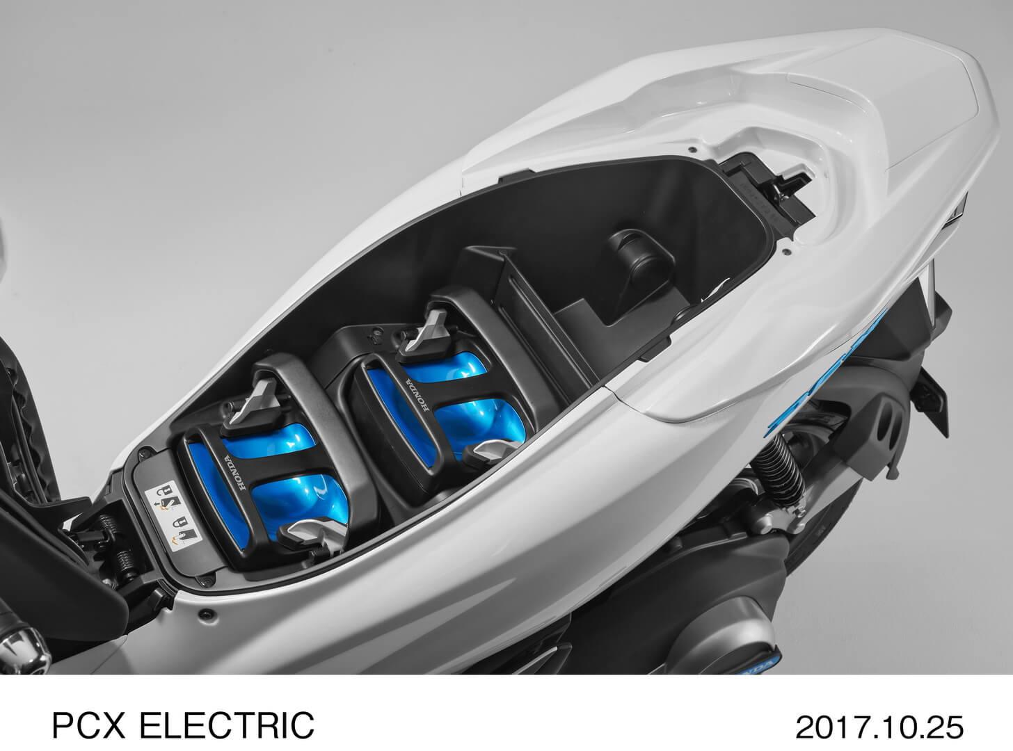 Honda PCXElectric с аккумуляторным блоком Mobile Power Pack