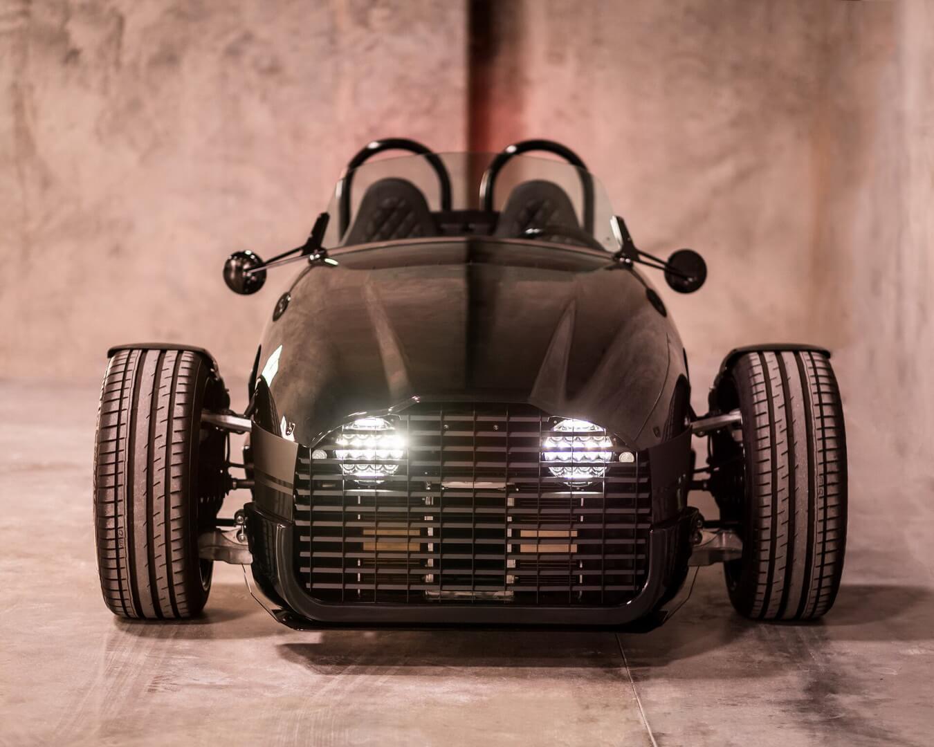 Трехколесный электромобиль Edison2