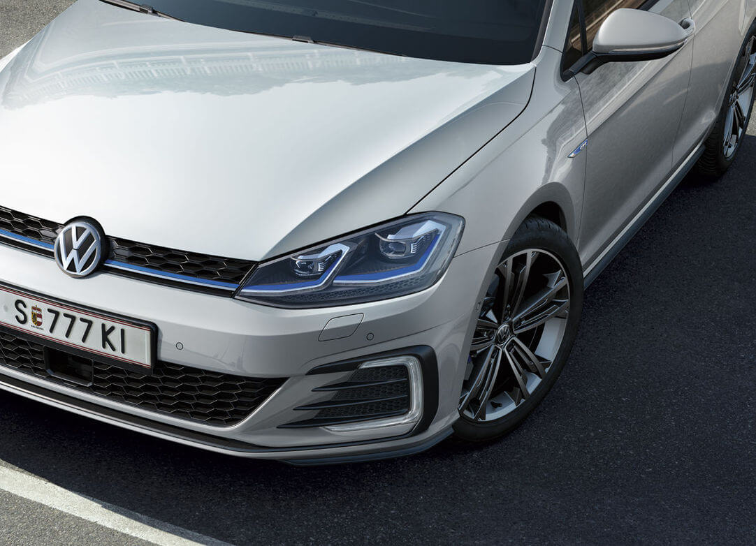 Оптика и передний бампер Volkswagen Golf GTE